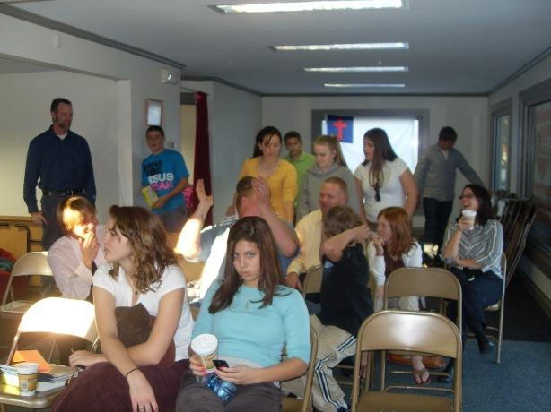 Bethany Baptist Visits New Heart!