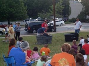 VBS 2009 Baptism